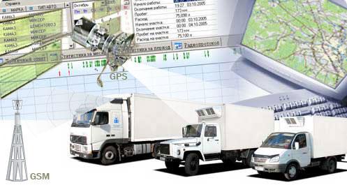 Дорожная спецтехника GPS